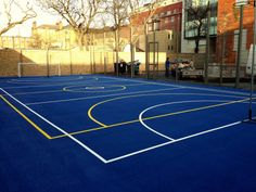 Here is a Multi Purpose facility we installed that can be used...