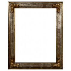 "Wooden silver frame ""Scanalina"" - Luxurious frame perfect to enhance the beauty of pictures and paintings. Available in different sizes!"