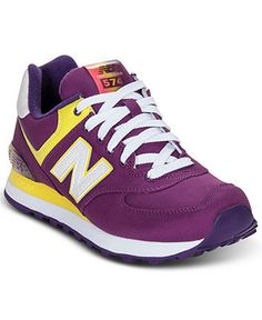 New Balance Women's Sneakers, 574 Sneakers - Sneakers - Shoes - Macy's