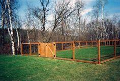 4 Glowing Tips: Unique Backyard Fence Unique Backyard Fence.Cheap Fencing Ideas In India Garden Fence Fence Law. Diy Fence, Fence Landscaping, Backyard Fences, Garden Fencing, Fenced Yard, Dog Yard, Design Jardin, Dog Rooms, Outdoor