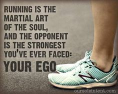 Running is...