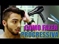 Escova Progressiva em Cabelo Masculino | Passo a Passo - YouTube