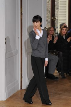 Bouchra Jarrar This time of year, fashion reporters like to talk about the red carpet. It connects our rarefied business to the real world better than anything else, the thinking goes (if you can call five-figure dresses and armies of stylists, hair, and makeup people the real world). Bouchra Jarrar has never gone after celebrity: Despite showing on the couture calendar for the last five years, she had yet to put an evening dress on her runway. The fact that she finally did so today seemed…