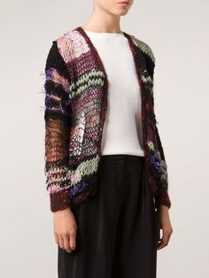 Rodarte Open Knit Cardigan - - Farfetch.com