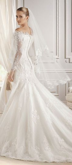 La Sposa Barcelona 2015 Bridal Collection