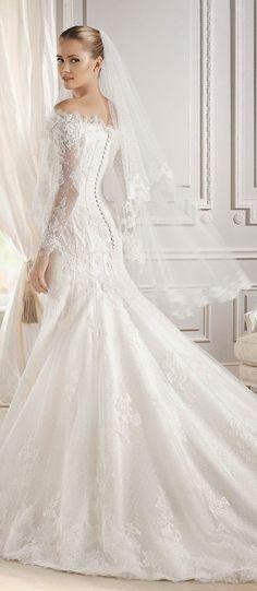 La Sposa Barcelona 2015 Bridal Collection