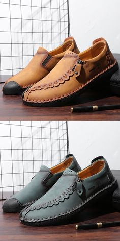 US 27.2 <Click to buy> Prelesty Big Size Zipper Fashion Loafer Soft Leather Men Driving Shoes Moccasin Comfortable Leather Loafer Shoes, Loafers Men, Dress Loafers, Dress Shoes, Leather Men, Soft Leather, Driving Shoes Men, Business Shoes, Boat Shoes