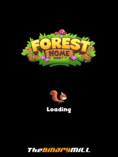Forest Home   Game Loader  UI, HUD, User Interface, Game Art, GUI, iOS, Apps, Games, Grahic Desgin, Puzzle Game, Maze Games, Brain Games   www.girlvsgui.com