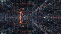 Tokyo gespiegelt und in der Timelapse inklusive tollem Sound – must see!