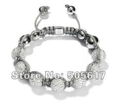 Wholesale Jewelry,Free shipping,New Shamballa Bracelet Micro Pave CZ Disco Ball Bead CPX050-in Shamballa Bracelet from Jewelry on Aliexpress.com