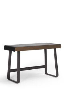 ClassiCon GmbH Pegasus Pegasus Home Desk Kernleder mokkabraun Home Desk, Home Office, Pegasus, Dining Bench, Furniture, Decor, Gliders, Cubby Hole Storage, Set Of Drawers