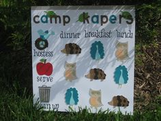 Kapers, Cookies, and Campfires: Additional Kaper Chart Ideas
