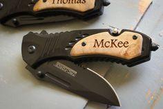 Personalized Knife Tac-Force Folding Knife Custom by EngraveMeThis