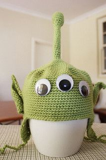 Little Green Man pattern by Margret Schell