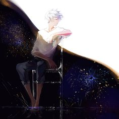 Fanart Anime... This pict is pretty cool #Timothy