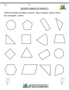 Printables Two Dimensional Shapes Worksheets preschool christmas math worksheets google search identify two dimensional shapes search