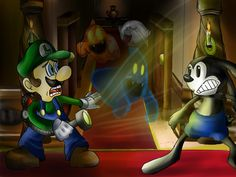 Luigis mansion by Lavilovelight.deviantart.com on @deviantART