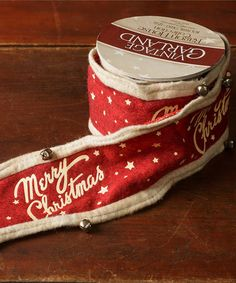 This 'Merry Christmas' Garland is perfect! #zulilyfinds