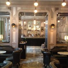 Supreme chic: Connaught Hotel Bar - Mayfair London #London #bar #luxe