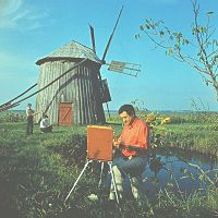 Imagini pentru igor vieru Painters, Ferris Wheel, Fair Grounds, Travel, Viajes, Destinations, Traveling, Trips