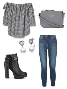 """""""Weekend vibes."""" by meagan-devouge on Polyvore featuring Articles of Society, Miss Selfridge and Kate Spade"""