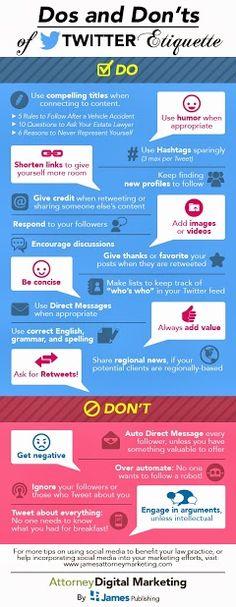 #twitter etiquette
