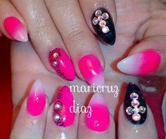 Rosa neon & negro