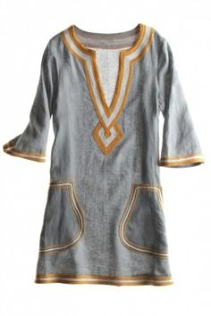 love tunic in summer time, as a dress, cover up, with leggings, with short shorts. Looks Style, Style Me, Look Fashion, Womens Fashion, Do It Yourself Fashion, The Bikini, Mode Style, My Wardrobe, Passion For Fashion