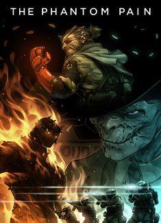 Website of artist Gray Shuko - portfolio Metal Gear Solid Ps1, Metal Gear V, Metal Gear Games, Metal Gear Solid Series, Video Game Art, Video Games, Metal Gear Survive, Mgs V, Kojima Productions