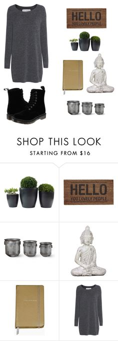 """Earthy"" by ruby-garthune ❤ liked on Polyvore featuring Garden Trading, Kate Spade, Fine Collection and Dr. Martens"
