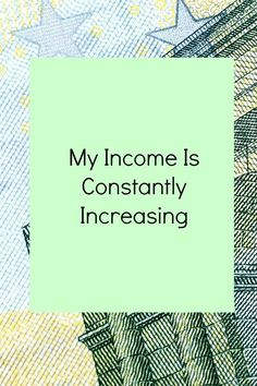My income is constantly increasing.  This is a fantastic affirmation to help you be a match for attracting more money into your life.  Pin for a regular reminder and check out my other 21 Empowering Affirmations for Business Success
