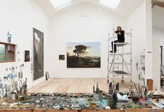 Britain's artists and their studios