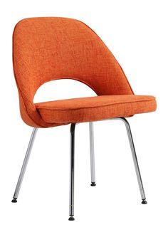 Comfy Orange Dining Chair   HauteLook