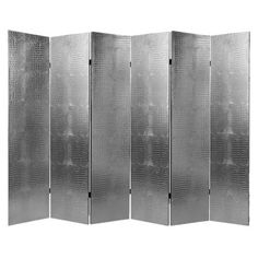 I pinned this Large Croc Room Divider in Silver from the Shining Examples event at Joss and Main!