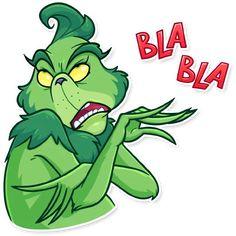 Набор стикеров для Telegram «Гринч» Grinch Christmas Decorations, Grinch Christmas Party, Disney Christmas, Christmas Art, Le Grinch, Grinch Stuff, The Grinch Movie, Grinch Stickers, Cartoon Stickers