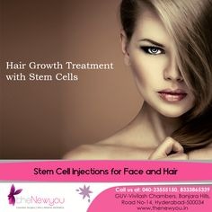 Now, opt for the advanced technology for #hairgrowth with #StemCellInjections only at theNewyou.