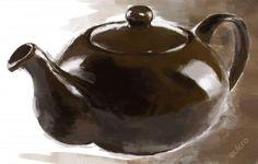 Obraz Teapot - styl olej
