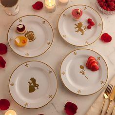 Be Our Guest Dessert Plate Set - Walt Disney World - 8 | Dinnerware | Disney Store @Arianna Castillo