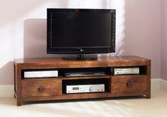 Mango Furniture Media Unit | Handcrafted Wooden TV Unit