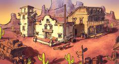 Western Town Concept by Docslav---GE.deviantart.com