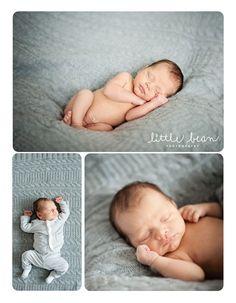 newborn baby boy :: little bean photography