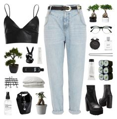 """""""Lies"""" by discxnnect-ed ❤ liked on Polyvore featuring River Island, Jeffrey Campbell, Bardot, Nearly Natural, Muuto, Retrò, Jura, philosophy, Nimbus and Hershesons"""