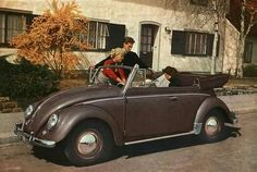 1954 VW Beetle Cabriolet  #vw_vintage_morat Volkswagen Vw Beetle Cabriolet, Vw Cabrio, Volkswagen Karmann Ghia, Vintage Porsche, Vw Vintage, Convertible, 1950s Car, Vw Beetles, Automatic Transmission