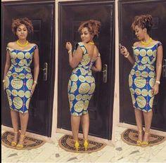 African Pencil Dress