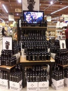 Just got this from @wegmans in Dewitt, crazy  @blkbeverages display!!!