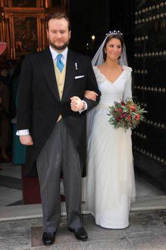 Casilda e Ignacio, felices el día de su boda