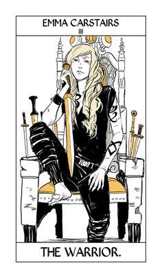 Cassandra Jean Shadowhunter Tarot card #3