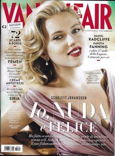 Vanity Fair magazine Scarlett Johansson Logan Lerman Moran Atias Syria