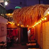 Arnold's Beach Bar & Grill in Honolulu, Hawaii - a hard to find (unless you're looking for it) hole-in-the-wall bar, but great drinks and atmosphere! Jimmy Buffett, Wall Bar, Bar Grill, Beach Bars, Cool Bars, Hawaii Travel, Honolulu Hawaii, Restaurants, Future
