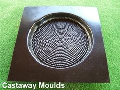 Makes a stepping stone which is approximately diameter x deep. Made from a Durable Plastic. Stepping Stone Pathway, Stepping Stone Molds, Concrete Molds, Lawn Edging, Ponds Backyard, Garden Ornaments, Yard Ideas, Plastic, Deep